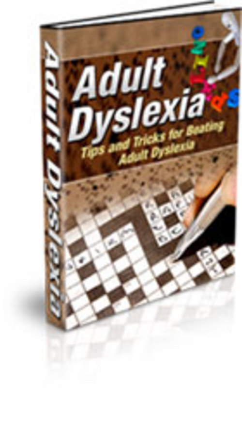 Product picture Adult Dislexia - How to Regain Your Life
